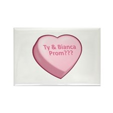 Ty & Bianca Prom??? Rectangle Magnet