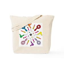 Getting Ready Mandala Tote Bag