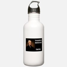 Jefferson On Guns Water Bottle