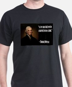 Jefferson On Guns T-Shirt