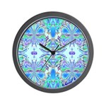 BUTTERFLY SERIES:  Blue Butterflies W. Clock