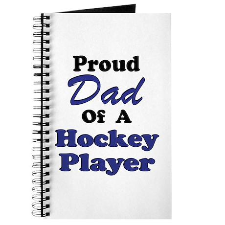 Dad Hockey Player Journal