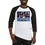 AMERICAN FOXHOUND smiling moo Baseball Jersey