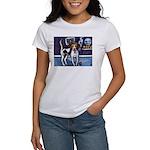 AMERICAN FOXHOUND smiling moo Women's T-Shirt