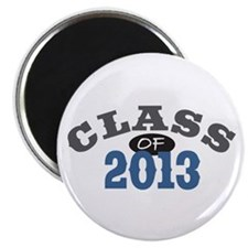 "Class Of 2013 Blue 2.25"" Magnet (10 pack)"