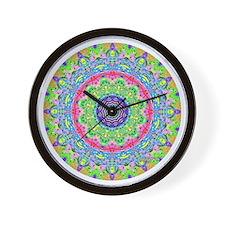 <b>MANDALA SERIES:</b> Pastel Mandala Wall Clock