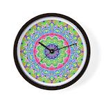 MANDALA SERIES:  Pastel Mandala Wall Clock