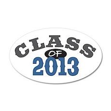 Class Of 2013 Blue 22x14 Oval Wall Peel