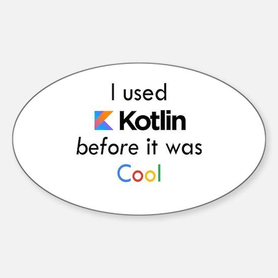Cute Codes Sticker (Oval)