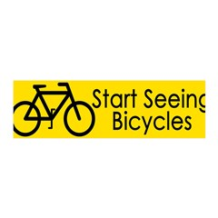 Start Seeing Bicycles (pro-bike wall graphic)