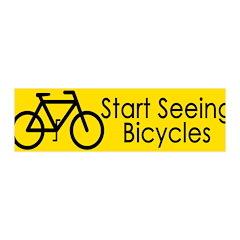 Start Seeing Bicycles (pro-bike wall graphic)