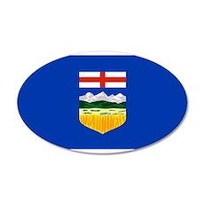 Alberta 22x14 Oval Wall Peel