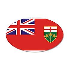 Ontario 22x14 Oval Wall Peel