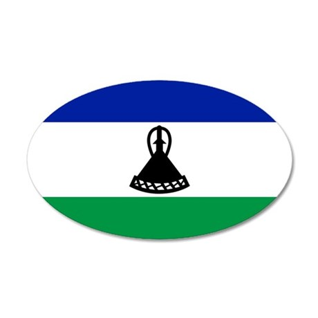 Lesotho 22x14 Oval Wall Peel