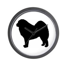 Cute Tibetan mastiff Wall Clock