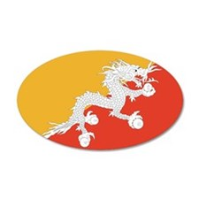 Bhutan 22x14 Oval Wall Peel