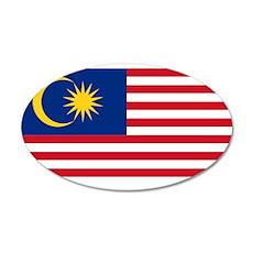 Malaysia 22x14 Oval Wall Peel