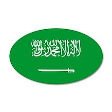 Saudi Arabia 22x14 Oval Wall Peel