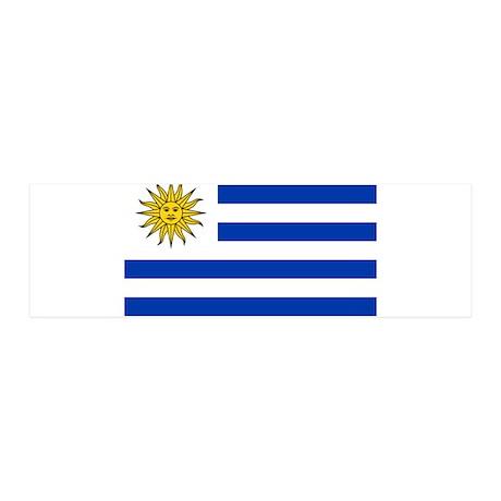Uruguay 42x14 Wall Peel