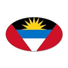 Antigua 22x14 Oval Wall Peel