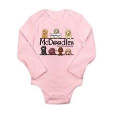 McDoodles Logo Long Sleeve Infant Bodysuit