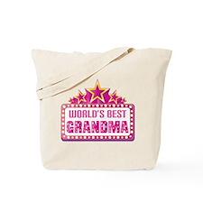 Grandma Worlds Best Tote Bag