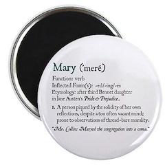 Jane Austen Mary Definition Magnet