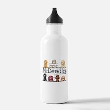 Goldendoodle McDoodles Water Bottle