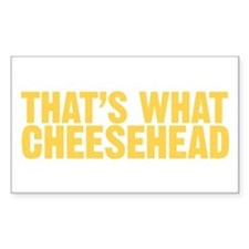 That's what cheesehead Decal