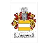 Santandrea Coat of Arms Postcards (Package of 8)