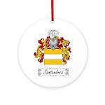 Santandrea Coat of Arms Ornament (Round)