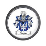 Sansoni Family Crest  Wall Clock