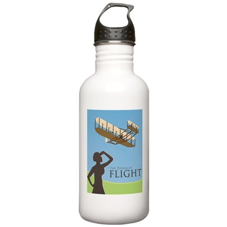 The Dream of Flight Stainless Water Bottle 1.0L