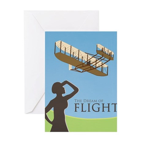 The Dream of Flight Greeting Card
