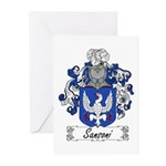 Sansoni Family Crest  Greeting Cards (Pk of 10