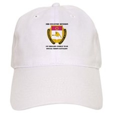 1st BCT - Special Troops Bn with Text Baseball Cap