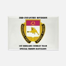 1st BCT - Special Troops Bn with Text Rectangle Ma