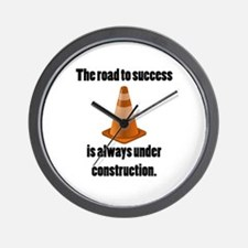 Road to Success Wall Clock