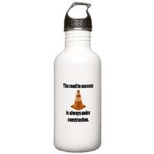 Road to Success Water Bottle