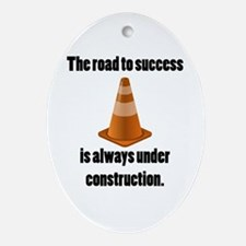 Road to Success Ornament (Oval)