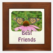 Monarch Best Friends Framed Tile
