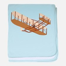 Wright Flyer baby blanket
