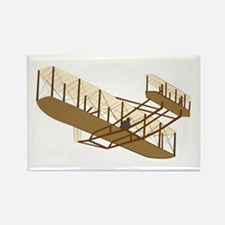 Wright Flyer Rectangle Magnet