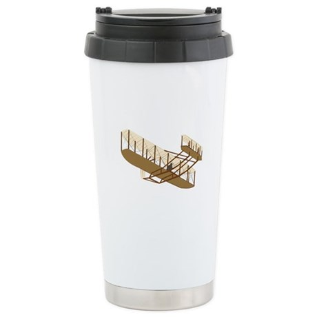 Wright Flyer Stainless Steel Travel Mug