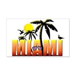 Miami 22x14 Wall Peel