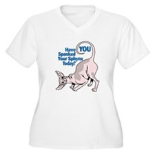 Spank Your Sphynx - Spots T-Shirt