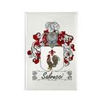 Salvucci Coat of Arms Rectangle Magnet