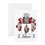Salvucci Coat of Arms Greeting Cards (Pk of 10