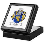 Salvo Family Crest Keepsake Box