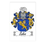 Salvo Family Crest Postcards (Package of 8)